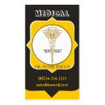 Medical Caduceous HealthCare Business Card