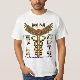 Medical Caduceus Universal View Notes Important T-Shirt