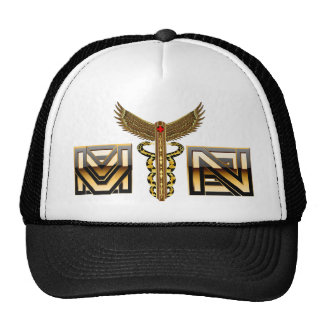 Medical Caduceus Universal View Notes Important Trucker Hat