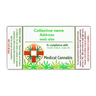 Medical cannabis cross label