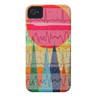 Medical Cardiac Rhythm Forest Dreams iPhone 4 Case