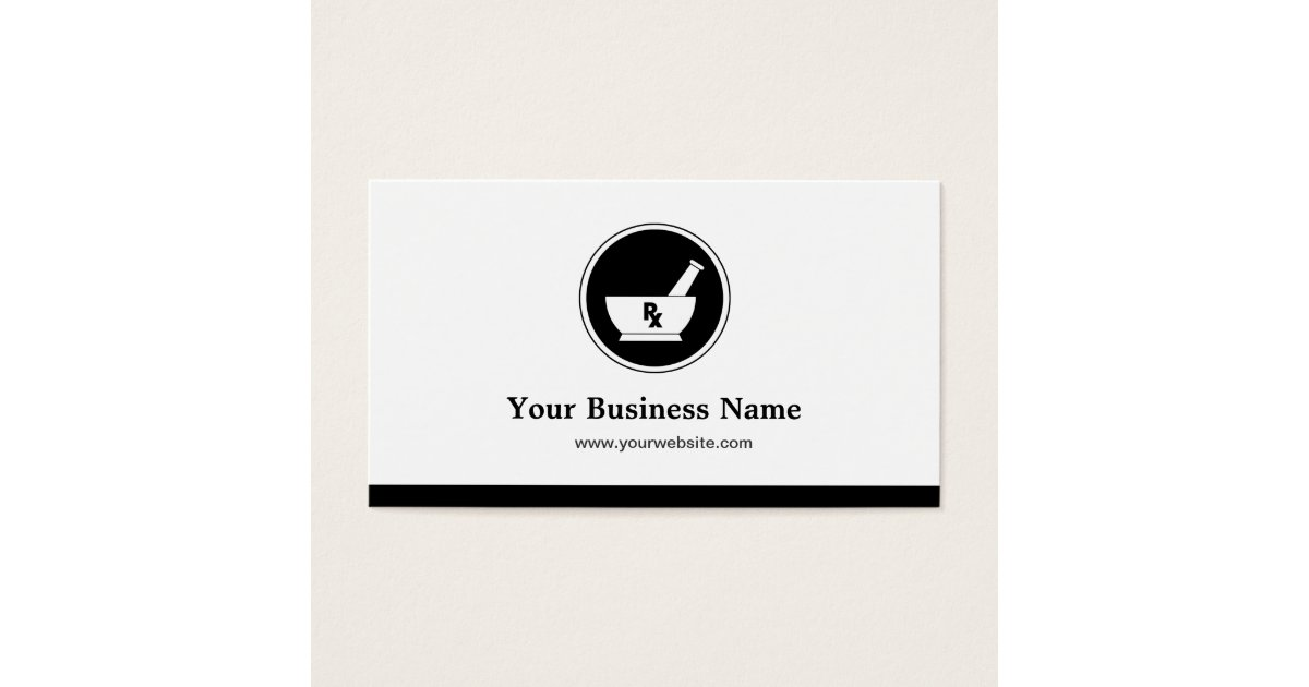 Pharmacy Business Cards & Templates | Zazzle