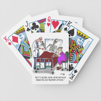 Medical Cartoon 9378 Bicycle Playing Cards