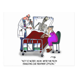 Medical Cartoon 9378 Postcard