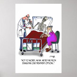 Medical Cartoon 9378 Poster