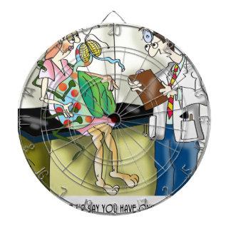 Medical Cartoon 9517 Dartboard