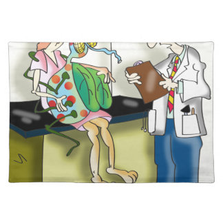 Medical Cartoon 9517 Placemat
