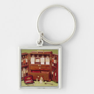 Medical chest by the Dinneford Family Chemist Keychain