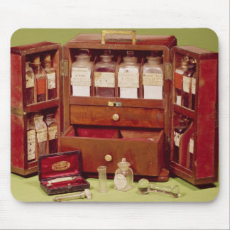Medical chest by the Dinneford Family Chemist Mouse Pad