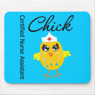 Medical Chick  v1 Certified Nurse Assistant Mouse Pad