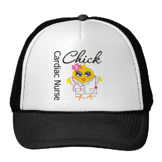 Medical Chick v2 Cardiac Nurse Hat