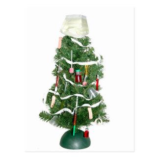 Medical Christmas tree Postcard