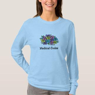 Medical Coder Blooms1 T-Shirt