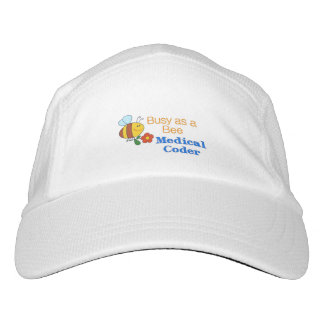 Medical Coder Busy Bee Headsweats Hat