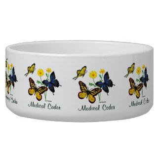 Medical Coder Butterflies Bowl