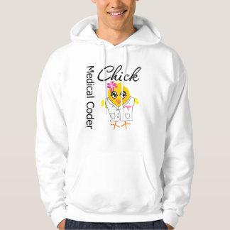 Medical Coder Chick Hoodie