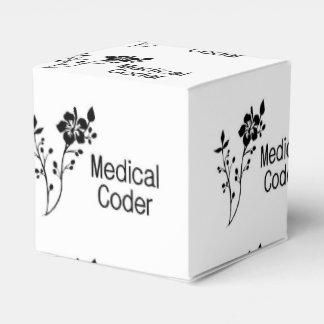 Medical Coder Elegance Favor Box