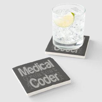 Medical Coder Extraordinaire Stone Coaster