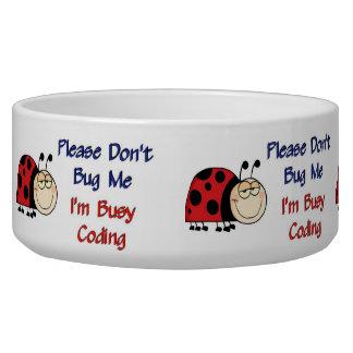 Medical Coder Ladybug2 Bowl