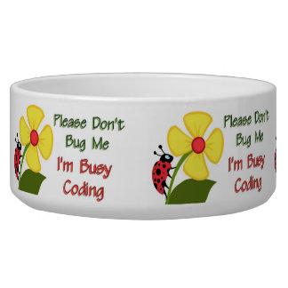 Medical Coder Ladybug Bowl