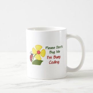 Medical Coder Ladybug Coffee Mug