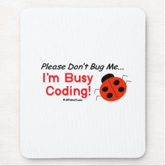 Medical Coder - Ladybug Mouse Pad