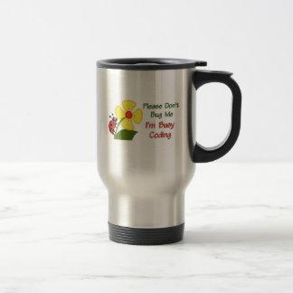 Medical Coder Ladybug Travel Mug