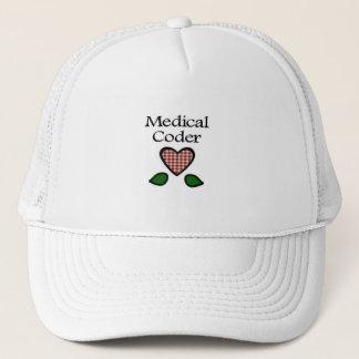Medical Coder Red GH Trucker Hat