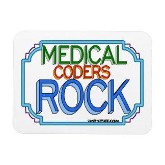 Medical Coders Rock Magnet