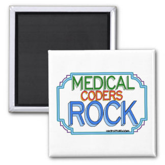 Medical Coders Rock Magnets