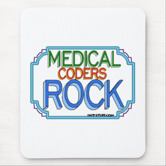 Medical Coders Rock Mouse Pad