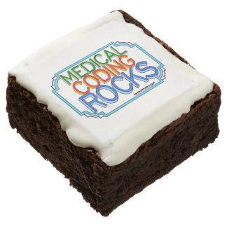 Medical Coding Cookies Chocolate Brownie