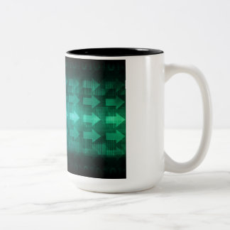 Medical Compliance and Standards in Practice Art Two-Tone Coffee Mug
