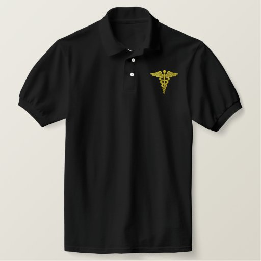 Medical Corps Embroidered Polo Shirt