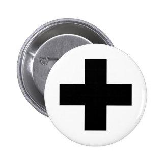 Medical Cross Medical Life Saving Guard Symbol Pins