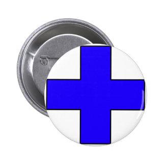 Medical Cross Medical Life Saving Guard Symbol Buttons