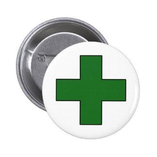 Medical Cross Medical Life Saving Guard Symbol Button