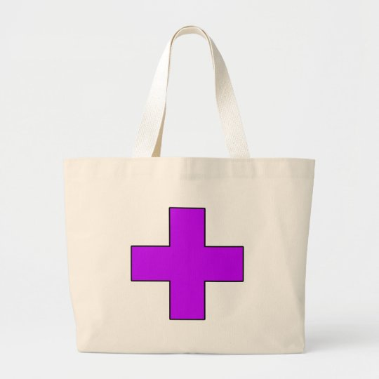 Medical Cross Medical Life Saving Guard Symbol Large Tote Bag