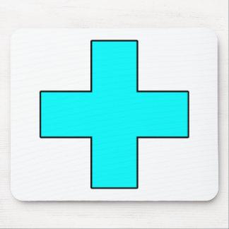 Medical Cross Medical Life Saving Guard Symbol Mouse Pad