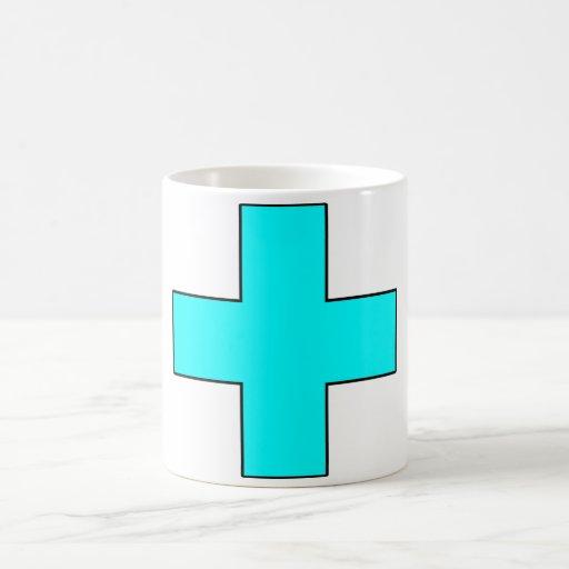 Medical Cross Medical Life Saving Guard Symbol Mug