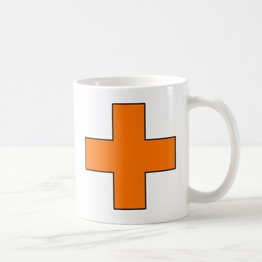 Medical Cross Medical Life Saving Guard Symbol Coffee Mugs