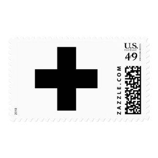 Medical Cross Medical Life Saving Guard Symbol Postage Stamp