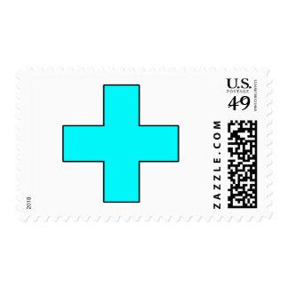 Medical Cross Medical Life Saving Guard Symbol Stamps