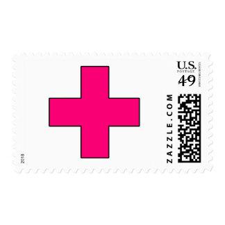 Medical Cross Medical Life Saving Guard Symbol Postage Stamps