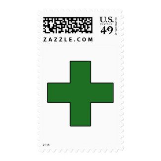 Medical Cross Medical Life Saving Guard Symbol Postage