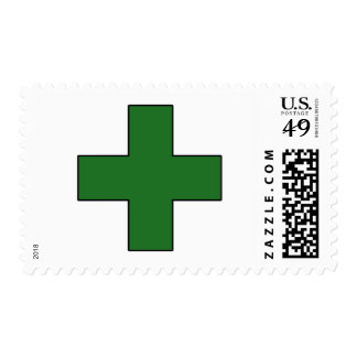 Medical Cross Medical Life Saving Guard Symbol Stamp