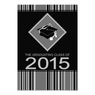 medical degree graduate 2015 3.5x5 paper invitation card