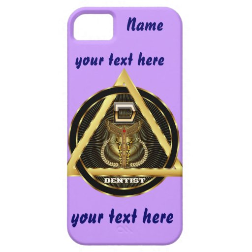 Medical Dentist Universal View Notes Important iPhone 5 Cover