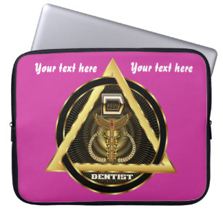 Medical Dentist Universal View Notes Important Laptop Sleeves