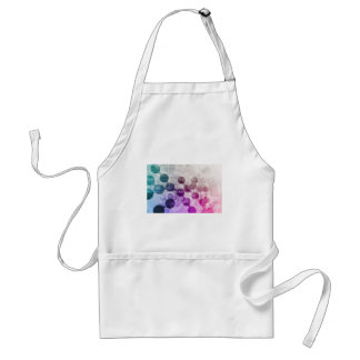 Medical Discovery Science Research Adult Apron